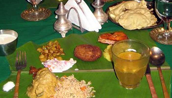 Culinary Tour of South India